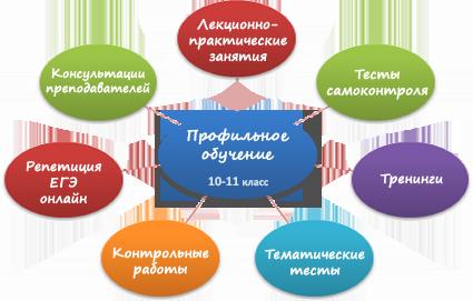 Профильное обучение онлайн — 10-11 класс